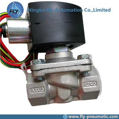"8210G088 EF8210G088 ASCO 8210 series 3/4"" DN20 Stainless Steel Body General Service Solenoid Valves"