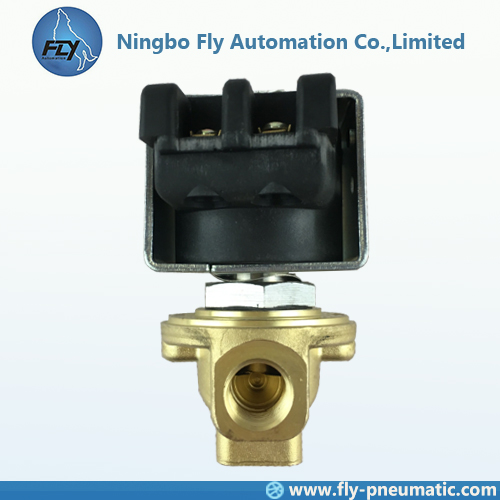"UG1120283 ASCO Pilot valve Normally closed Direct operated Brass body 1/4"" Port 400405-217"