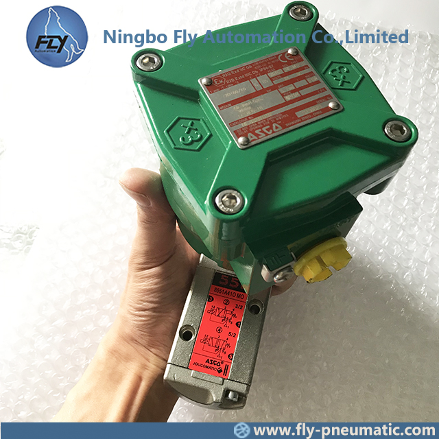 8551A421 NF8551A421 ASCO 8551 series Explosion Proof Pilot Operated Direct Mount Inline Spool Valve